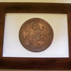 celtic copper etching