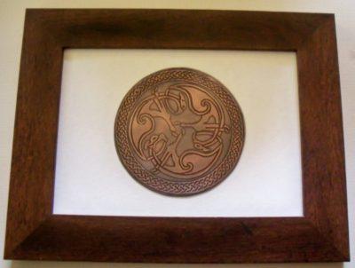 celtic copper etching