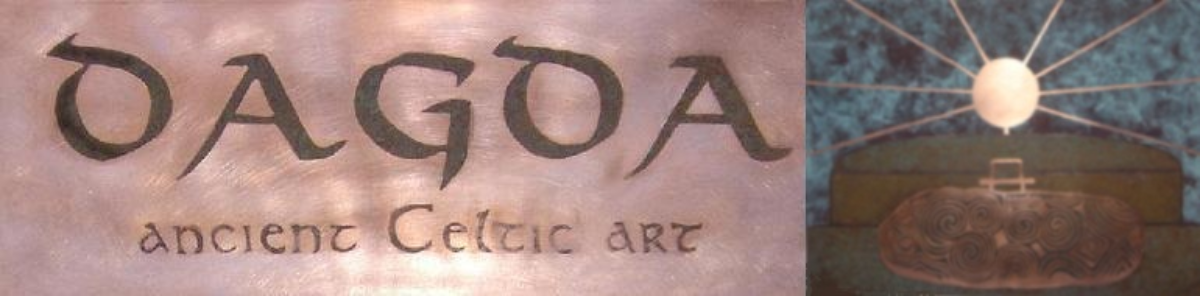 Celtic Art Dagda Metalwork